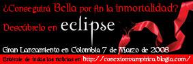 Conexi�n Vamp�rica Colombia.....el puente entre t� y el mundo de Crep�sculo.