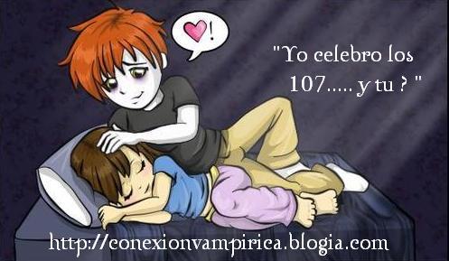 Yo celebro los 107.................... y tu?